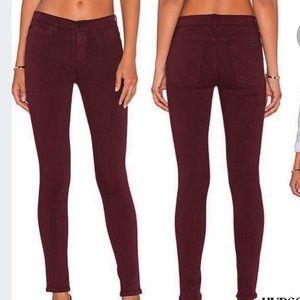 Hudson MidRise Nico Jeans Super Skinny